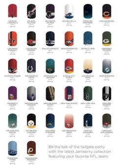 NFL Collection by Jamberry